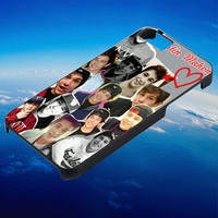 Austin MAhone Collage Red Love for iPhone, iPod, Samsung Galaxy, HTC One, Nexus ***