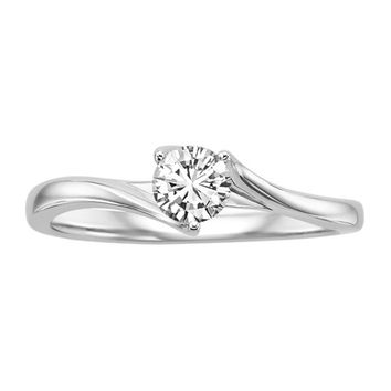1/2 ct. Diamond Solitaire Engagement Ring