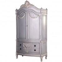 NEW! Bonaparte Double French Armoire