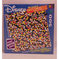 World's Most Difficult Mickey Mouse Jigsaw Puzzle - Puzzle Haven