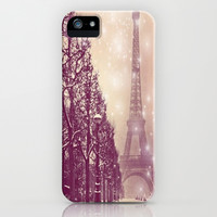 Dreaming of Paris  iPhone & iPod Case by Amy McCuiston