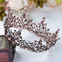 Elegant Baroque Hair Crown AWC0019 [WC0019] - $27.00 - mystique.VPfashion.com