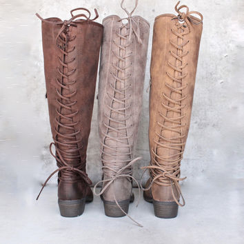 very volatile - miraculous - knee high zip boot (women) - more colors