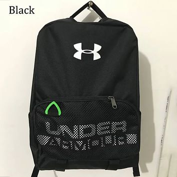 Under Armour Men's and Women's Waterproof Sports Training Backpack F0651-1 black