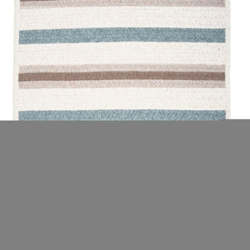 Colonial Mills Allure Decorative Braided Sparrow Gray Area Rug Swatch Sample 14x17