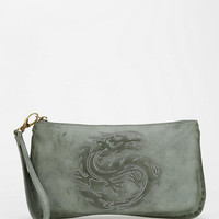 Deena & Ozzy Embroidered Animal Wristlet Pouch