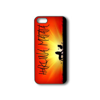 Hakuna Matata - iPhone 4 case, iphone 5 case, ipod 5 case, ipod 4 case, samsung galaxy S3, galaxy S4,  galaxy note 2