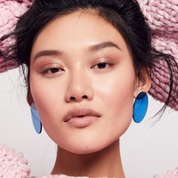 Free People Lucite Mega Earrings