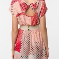 UrbanOutfitters.com > Cooperative Silky Tie-Back Dress