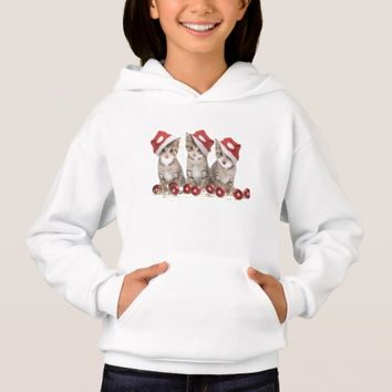 Christmas Cats Hoodie