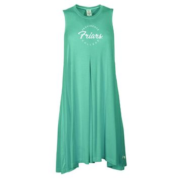 Official NCAA Providence College Black Friars - RYLPRO04 Women's Sleeveless Spandex Pleat Dress