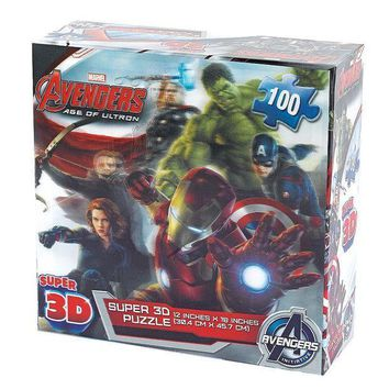ESB7GX Marvel Avengers: Age of Ultron 100-pc. Super 3D Puzzle by Cardinal