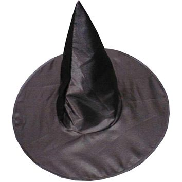Witch Hat Deluxe Satin Chld