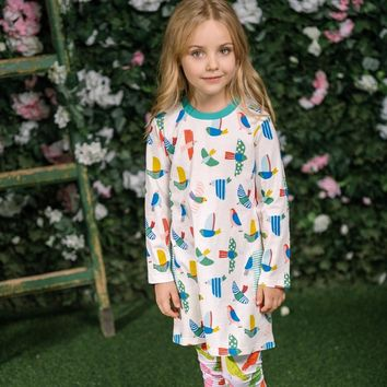 Tunic Jersey Dresses for Girls