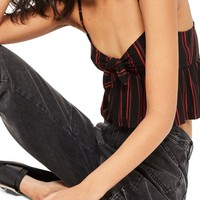 Topshop Know Front Stripe Camisole   Nordstrom