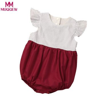 Baby Rompers Summer Baby Girl Clothes Short Sleeve Baby Girl Dress 2018 Newborn Baby Clothes Roupas Bebe Infant Jumpsuits