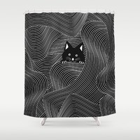 Crazy Cat Lady Shower Curtain by UMe Images