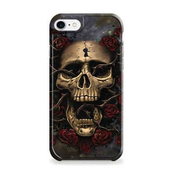 Skull Entwined with Roses iPhone 6 | iPhone 6S Case