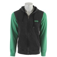 On Sale Hurley Burnout Zip Up Hoodie Black 2013