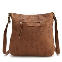 Tribal Stitch Cross-Body Bag: Charlotte Russe