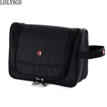LHLYSGS Brand Waterproof Travel Men's Cosmetic Bag Women Large Necessaries Beauty Make Up Organizer Bathroom Wash Toiletry Bag