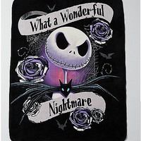 Wonderful Nightmare Fleece Blanket - The Nightmare Before Christmas - Spencer's
