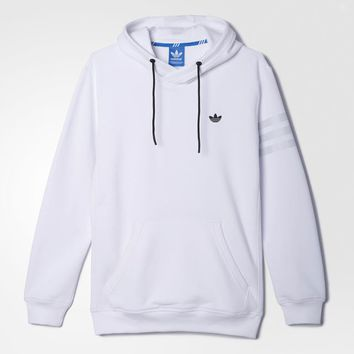 adidas Sport Luxe Fleece Hoodie - White | adidas US