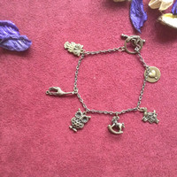 Charm Bracelet with cute animals charms
