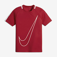 The Nike Dry Academy Big Kids' Soccer Top.