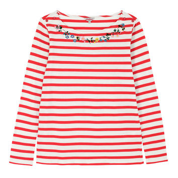 Breton Stripe Cotton Jersey Top | Stripes | CathKidston