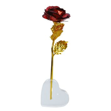 Rose Flower with Love Holder For Gifts