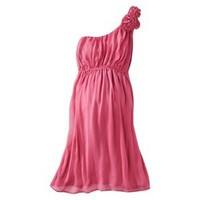 Merona® Maternity One-Shoulder Rosette Dress - Assorted Colors