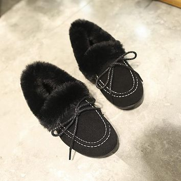 Flat Fur Boot Like Uggs Winter Boots