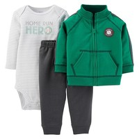 Just One You™Made by Carter's® Newborn Boys' 3pc Homerun Hero Set