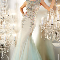 Floor Length Panoply Evening Gown 14647