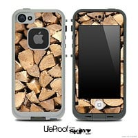 Log Ends 2 Skin for the iPhone 5 or 4/4s LifeProof Case