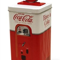 Coca-Cola Beverage Machine Coin Piggy Bank