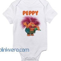 Trolls peppy Awesome Baby Onesuit Unisex Cute all size boy girl