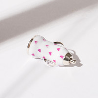 Pink Hearts Car Charger