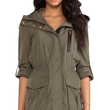 Mackage Gypsy Rainwear Jacket in Olive