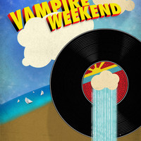 Vampire Weekend - Chicago Art Print by Luke Eckstein