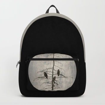 A Full Moon Night Backpacks by ARTsKRATCHES