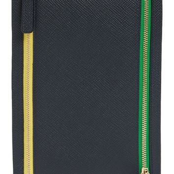 Smythson Panama Leather Currency Case | Nordstrom
