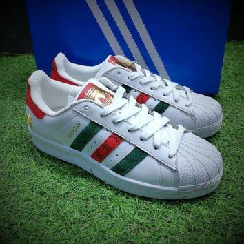 ONETOW Best Online Sale Gucci X Adidas Originals Superstar 80s Sport Shoes Casual Shoes