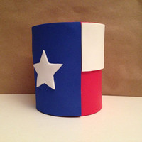 Texas Flag Drink Koozie Set, Lone Star Flag, Texas, Drink Koozy, Beer Koozy, Drink Coozie, Beverage Koozies