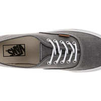 Vans Authentic™ Slim (Washed) Quiet Shade/True White - Zappos.com Free Shipping BOTH Ways
