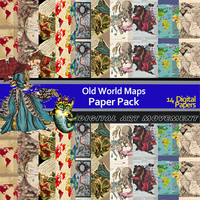 Antique Maps Seamless Patterns, Old Maps Digital Papers , Antique Maps Gift Wrap, Old Maps Scrapbook,Old World Maps Blog, Old Maps Wallpaper