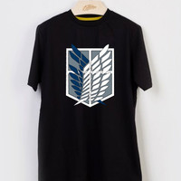 attack on Titan logo T-shirt Men, Women and Youth