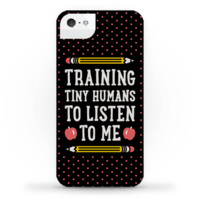 TRAINING TINY HUMANS TO LISTEN TO ME PHONE CASE