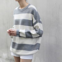 Round Neck Wool Pullover Sweater